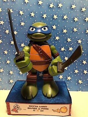 """Teenage Mutant Ninja Turtles TMNT TURTLE W/ WEAPONS LEONARDO 6"""" Figure 2014](Leonardo Ninja Turtle Weapon)"""