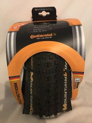 Continental Mountain King 2,2 ProTection Folding Bead w Black Chili Rubber, 27.5