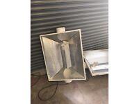 "Hydroponics 6"" Inch 150mm Coolshade Air Cooled Reflector Hood Light Shade XXL"