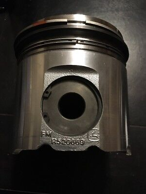 John Deere 6125h001 Re524326 Piston With Rings 12.5 Litre 500h.p