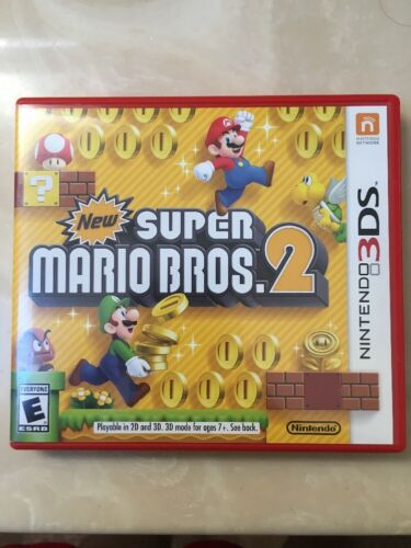 Изображение товара New Super Mario Bros. 2 (Nintendo 3DS, 2012)