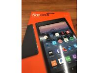 """Amazon Kindle Fire HD 8 Tablet with Alexa, 8"""", 16 GB (latest version)"""