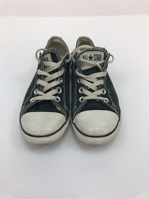 Converse Men's Chuck Taylor Lean Ox Dark Green Tie Up Basketball Shoes Sz 4  , used for sale  Howell