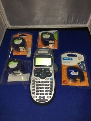 Dymo Letratag Personal Hand-held Label Maker With 6 White 1 White Plastic Lab