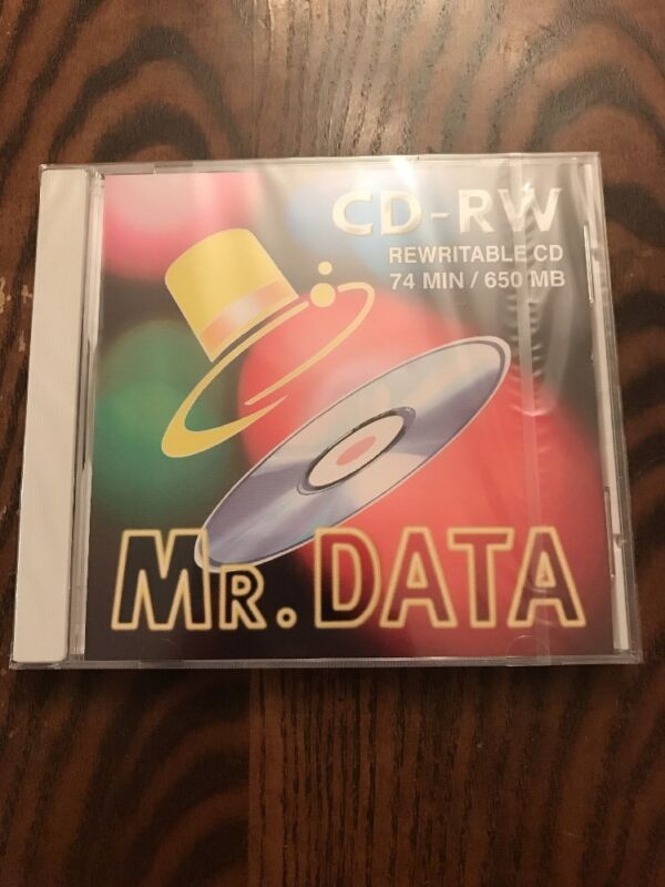 (8) MR Data CD-RW REwritable CD LOT 74 min. /650MB
