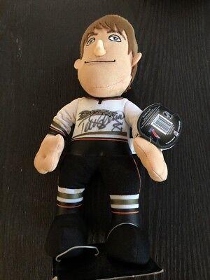 Signed Anaheim Ducks - Teemu Selanne Anaheim Ducks For8ver Plush Doll SIGNED