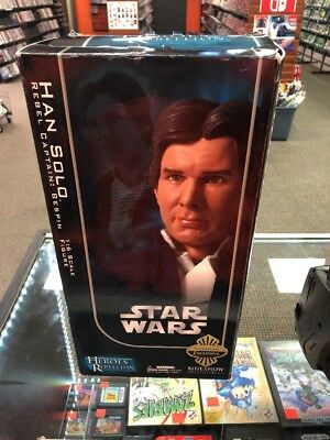 Sideshow Exclusive Heros Rebellion Star Wars  Bespin Han Solo w/ Mynock