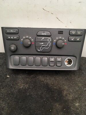 VOLVO S80 2.4 PETROL HEATER & AIR CONDITIONING CONTROL  PANEL