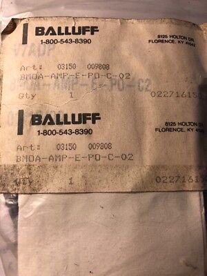 Balluff Bmoa-amp-b-nu-c-02 Photoelectric Sensor Amplifer New Ss7