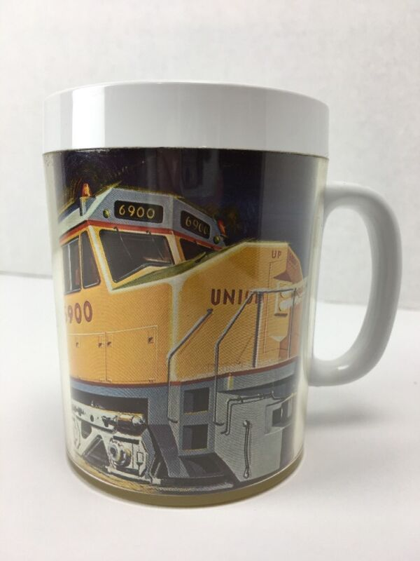Vintage Union Pacific Locomotive Engine 6900 Thermo Serv Mug