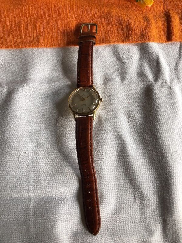 """PARA Klasse"" Herrenuhr, Gold 585 Golduhr Armbanduhr"