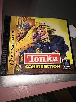 Hasbro Tonka Konstruktion CD - ROM Spiel für Alter 4 Windows 95/98, Guc