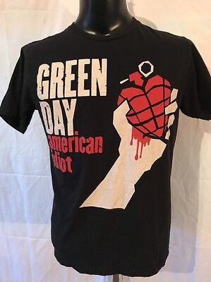 Green Day American Idiot T-shirt Size L Lookout Records Punk rock