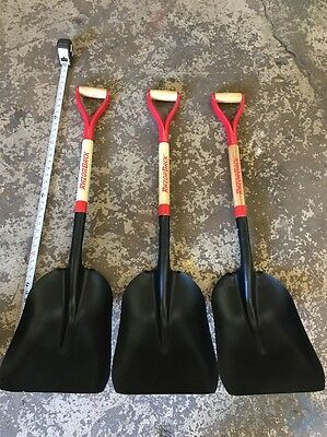 QUANTITY OF (3) AMES ASPHALT Scoop Shovel #2 RAZORBACK (Ames Scoop)