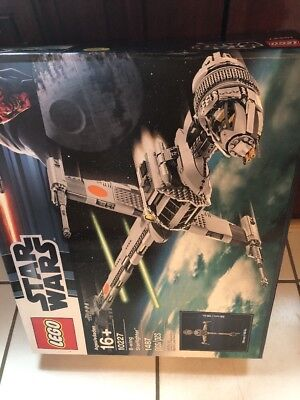 LEGO Star Wars B-Wing Starfighter (10227) - New Factory sealed Wear Dents On Box