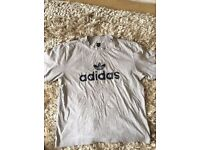 Men's Adidas Grey Medium T Shirt