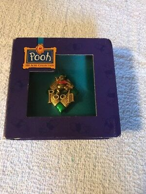 Pooh 100 Acre Collection  Pin - Disney With Box