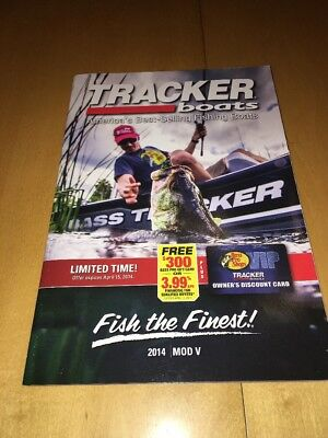 2014 Tracker Boats Fishing Catalog Brochure Mod V Pro Team Panfish 175 TXW 170