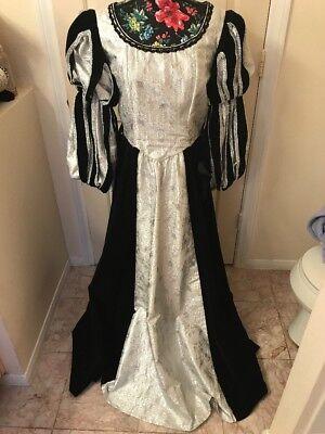 Queen Eliz ,Renaissance Kleid / 6,3pc17/1800 Tudors cc / Universell - 1800 Kostüm Kleider