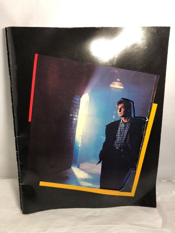 BARRY MANILOW 1987 BIG FUN Tour De Force Concert Program Book Souvenir