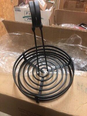Round Wire Condiment Caddy Soy Sauce Stand Holder Organizer Storage W Sign Clip