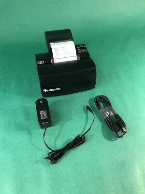 Addmaster Ij7200-2c Ij-7200 Usb Inkjet Receipt Printer W Ac Adapter Tested