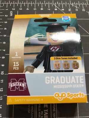 Mississippi State University Alumni - Oyo Sports Minifigure Mississippi State University Graduate Alumni Lego Female