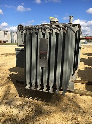 Westinghouse 2000 Kva 13800 Primary 480 Delta Sec Substation Transformer 2