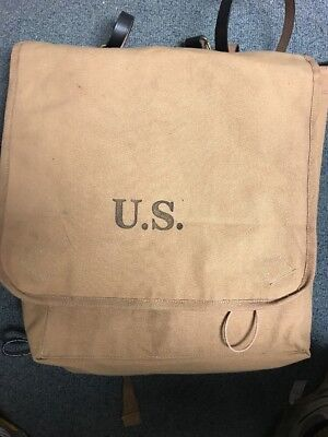 "US M1878 Blanket Bag with ""US"" Marking"