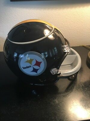 Pittsburgh Steelers Snack Helmet NFL Football Game Day Serving Party Tray