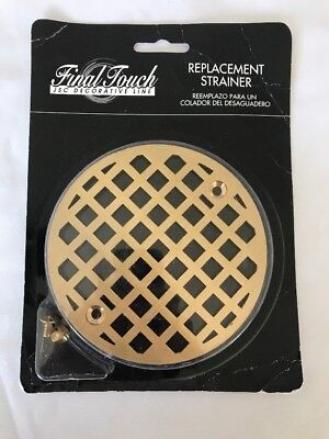 Plumbest C60-807 Decorative Shower Stall Drain Replacement Strainer with Screws