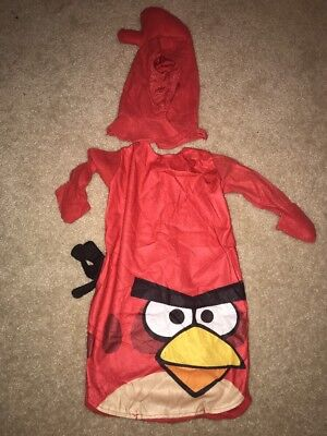 Rovio Angry Birds Red Bird Infant Baby Halloween Costume 12-18 months