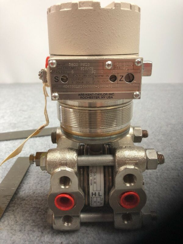 ABB Kent Taylor Electronic Transmitter 2500 PSIG