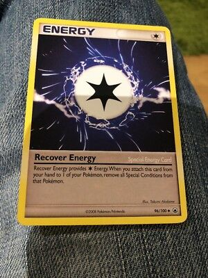 Pokemon Majestic Dawn Recover Energy WC 2008 96/100 trading card -