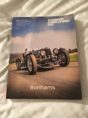 2015 Bonhams auction catalogue of the Goodwood Festival of Speed sale, Goodwood