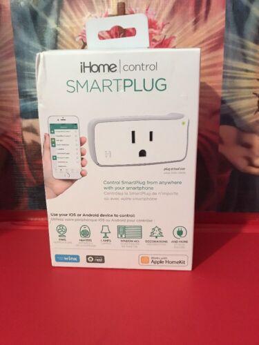iHome Control iSP5 WiFi Smart Plug White Apple HomeKit & Android