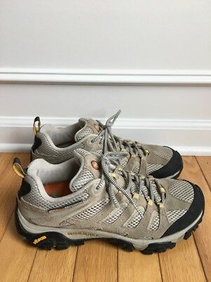 Great Ventilation - MERRELL MAOB VENTILATOR TAUPE Q FOAM VIBRAM SZ 10/41 GREAT SOLES HIKING/EVERYDAY