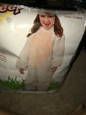 Nativity Sheep Children's Halloween Costume - Large 12-14