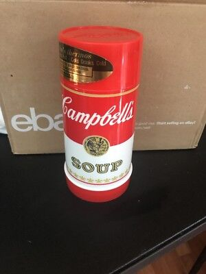 HARD-TO-FIND CAMPBELL'S SOUP 10 OZ. WIDE-MOUTH THERMOS BY ALADDIN