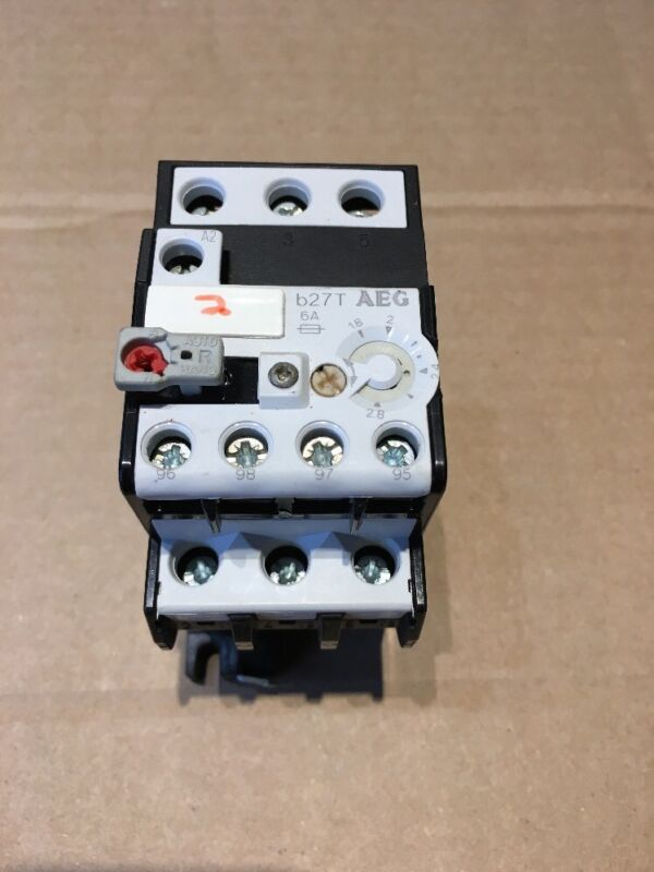 AEG B27 T Thermal Overload Relay 1.8-2.8A Used Good Condition