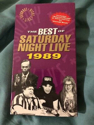The Best of Saturday Night Live Sealed VHS 1989 Sealed Rare Oop George (Best Of George Bush)
