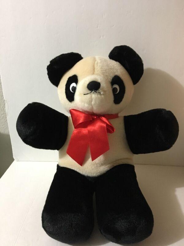 """1986 Gund Valentines 16"""" Koala Bear Plush ~ Black & Tan - Vintage - Rare"""