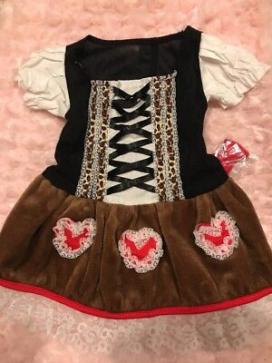 Medium Leg Avenue Dog Costume Dress HEIDI