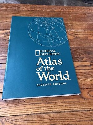 National Geographic Atlas Of The World, Seventh Edition 1999