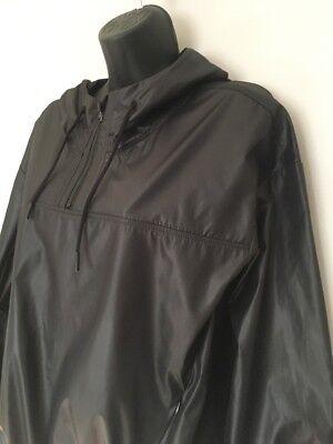 FABLETICS Europa Jacket Pullover Jacket Small Hood Black Waterproof