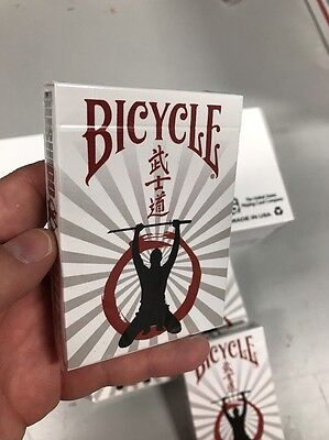 Amazing NEW FULL Brick Of Bicycle Bushido Challenge Playing Cards! Sold Out Deck