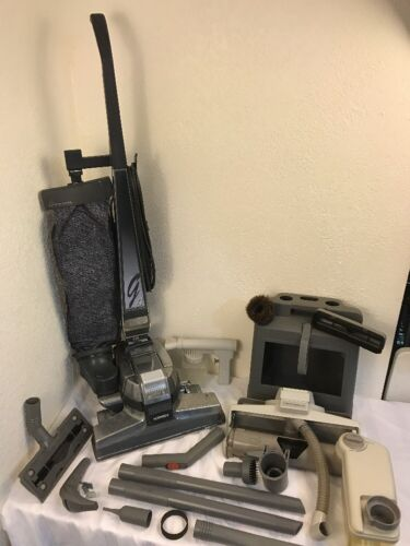 Kirby G4 Upright Vacuum Cleaner With Attachments Works