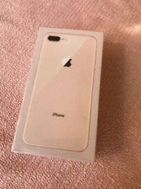 Apple iPhone 8 Plus - 64GB - Gold (Unlocked) Brand New .