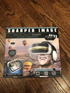 SHARPER IMAGE Smartphone 360 VIRTUAL REALITY Headset NEW in box