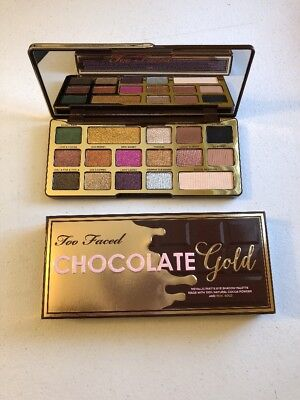 Too Faced Chocolate Gold Eye Shadow Palette~NEW~Limited Edition~US Seller